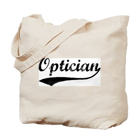 Optician (vintage) Tote Bag