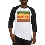 DEMOCRACY FOR IOWA Baseball Jersey