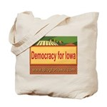 DEMOCRACY FOR IOWA Tote Bag