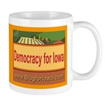 DEMOCRACY FOR IOWA Mug