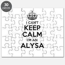 I can't keep calm Im ALYSA Puzzle