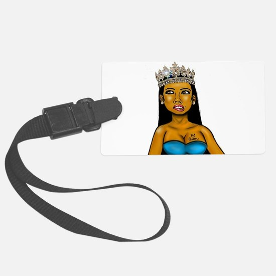 Crown her Luggage Tag