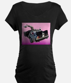 Delorean Maternity T-Shirt
