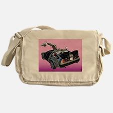 Delorean Messenger Bag