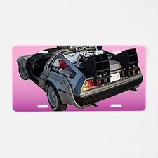 Delorean Aluminum License Plate