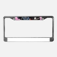 Delorean License Plate Frame