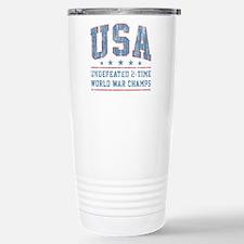 USA World War Champs Travel Mug