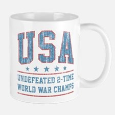 USA World War Champs Mugs