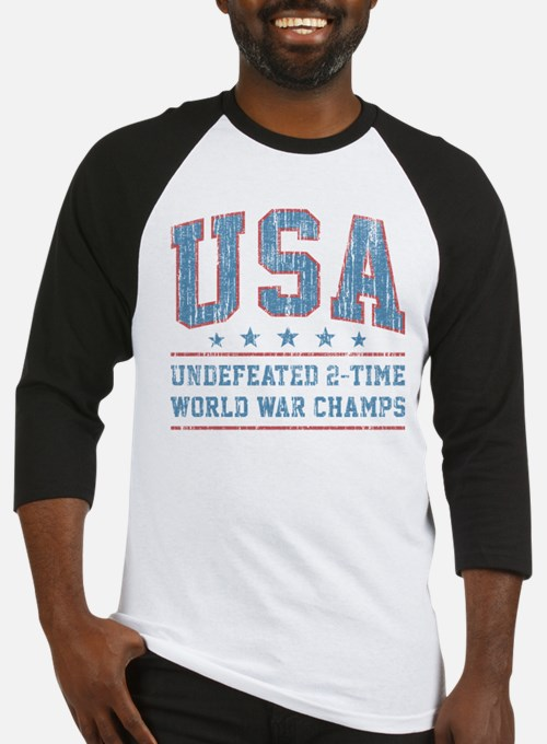 USA World War Champs Baseball Jersey