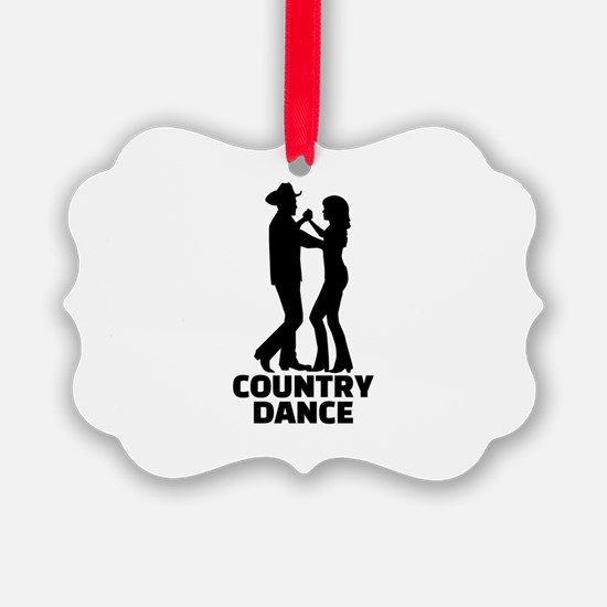 Country dance Ornament