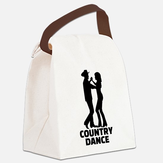 Country dance Canvas Lunch Bag