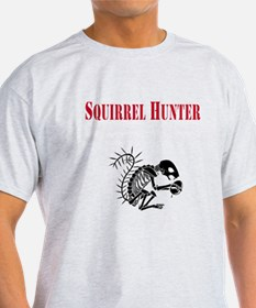 Dark Squirrel Hunter T-Shirt