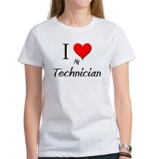 I Love My Technician Tee