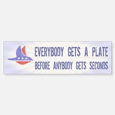 everybody gets a Bumper Bumper Sticker