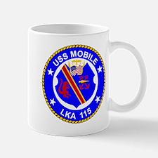 USS Mobile LKA-115 Mug
