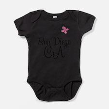 Cute San diego Baby Bodysuit