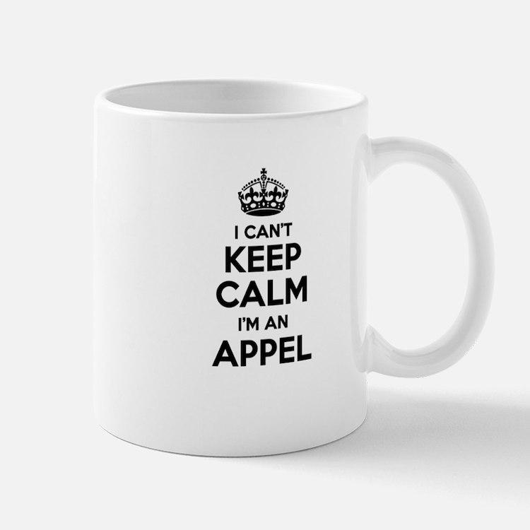 I can't keep calm Im APPEL Mugs