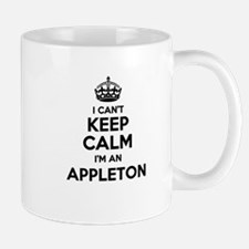 I can't keep calm Im APPLETON Mugs