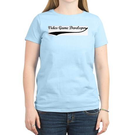 Video Game Developer (vintage Women's Light T-Shir