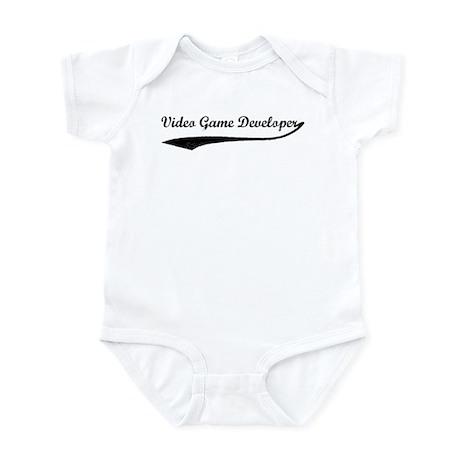 Video Game Developer (vintage Infant Bodysuit