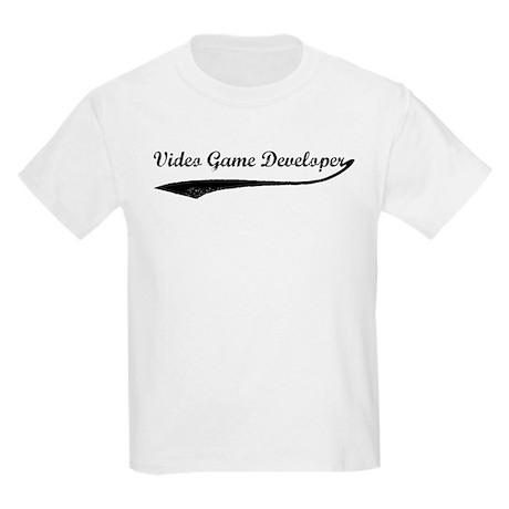 Video Game Developer (vintage Kids Light T-Shirt