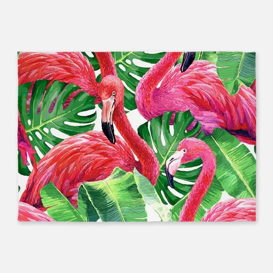 Flamingo 5'x7'Area Rug