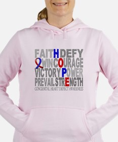 Chd Women's Hooded Sweatshirt