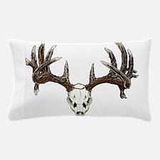 Skull hunter whitetail buck Pillow Case