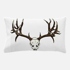 Buck deer skull Pillow Case