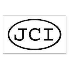 JCI Oval Rectangle Decal