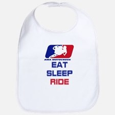 eat sleep ride Bib