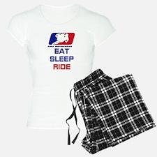 eat sleep ride Pajamas
