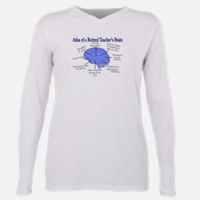 Cool Biology Plus Size Long Sleeve Tee