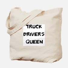 Truck Driver's Queen Tote Bag