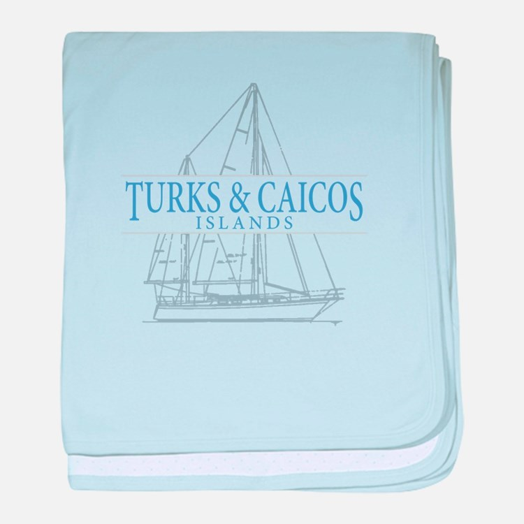 Turks and Caicos - baby blanket