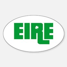 Eire Oval Decal