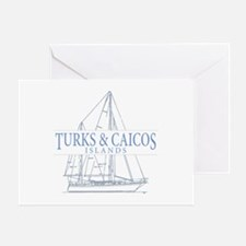 Turks and Caicos - Greeting Card