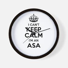 I can't keep calm Im ASA Wall Clock