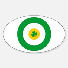 Irish Target... Oval Decal