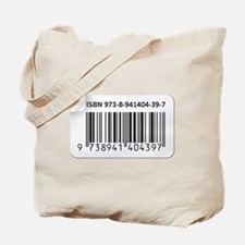 ISBN Barcode number image Tote Bag