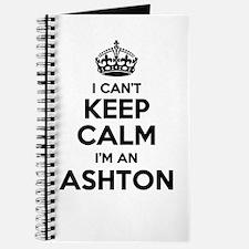 I can't keep calm Im ASHTON Journal