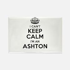 I can't keep calm Im ASHTON Magnets