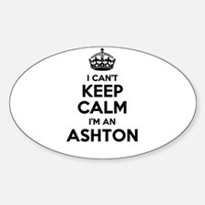 I can't keep calm Im ASHTON Decal