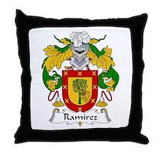 Ramírez I Throw Pillow