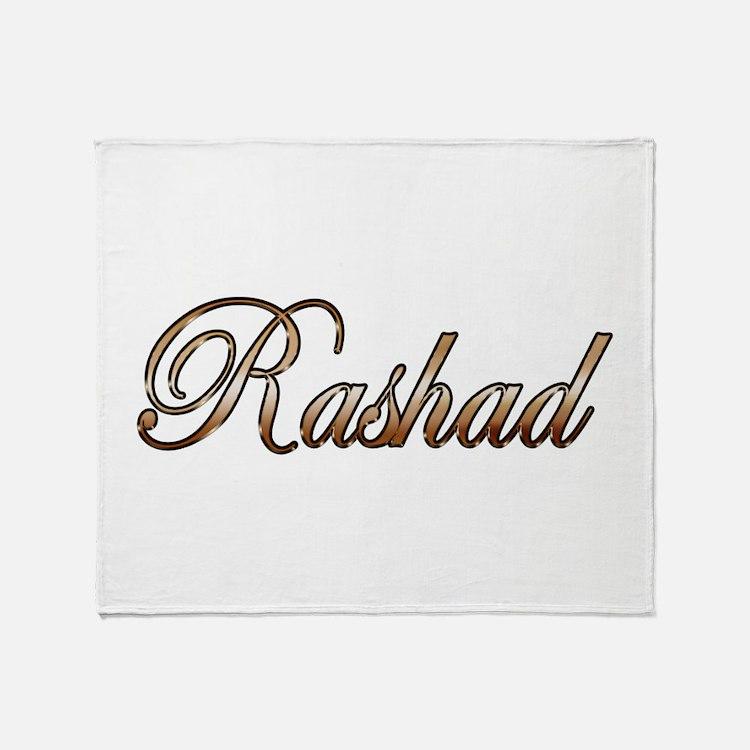 Gold Rashad Throw Blanket