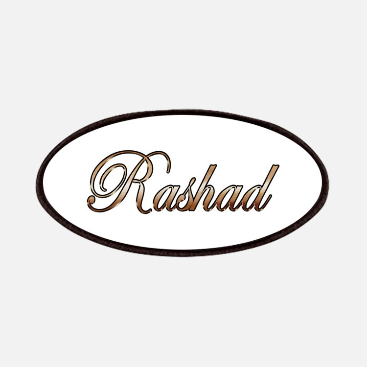 Gold Rashad Patch