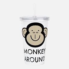 Monkey Around Acrylic Double-wall Tumbler