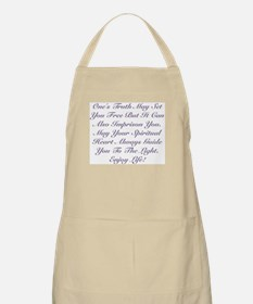 Spiritual Heart Enjoy Life! Apron