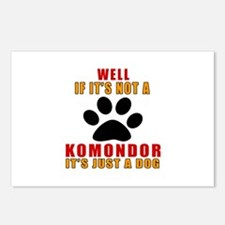 If It Is Not Komondor Dog Postcards (Package of 8)