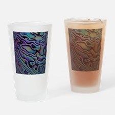 Funny Abalone Drinking Glass